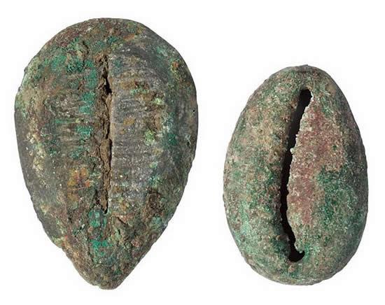 中国最早的货币是贝 秦始皇统一中国后统一了货币