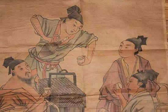 """古代人的精致生活揭秘 宋代广州城流行喝""""抹茶"""""""
