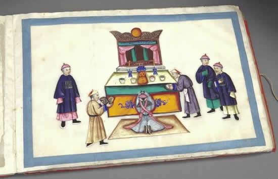 通过通草画看一两百年前的广州历史 了解古代广州对外贸易的故事