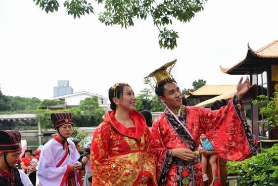 荔枝湾相传在汉朝已开始种荔枝 南汉王曾到在此大摆红云宴