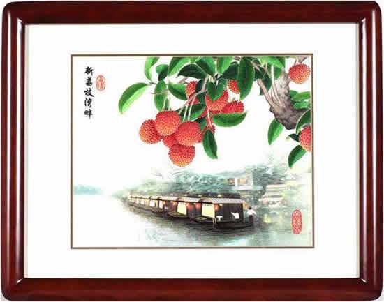 指尖锦绣——广绣文化艺术展8月4日在广州少年儿童图书馆开展