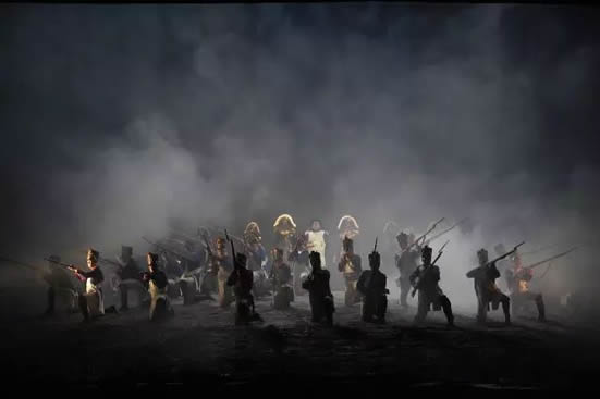 歌剧《战争与和平》登陆广州大剧院,俄语歌剧首度在广州上演!