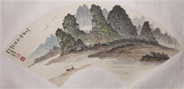广州市美术家协会老画家艺委会2018年优秀作品展在沙面美术馆举行