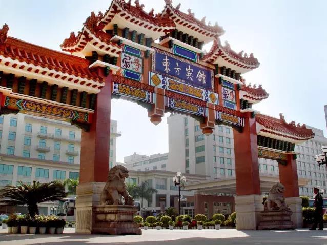 广州东方宾馆,创造了许多个中国历史上的第一