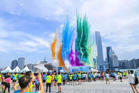 2018年第五届广州塔登高公开赛试跑活动举办