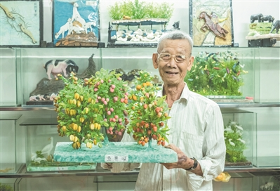 """广州乞巧文化节开幕,带你认识珠村村中知名的""""巧伯""""陈汉祺!"""