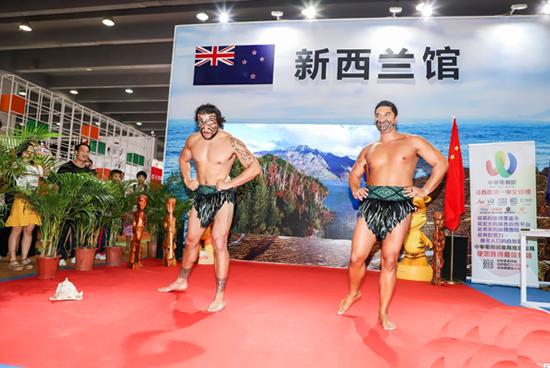 2018南国书香节上首设的新西兰馆,全方位展示新西兰风土人情和文化造诣!