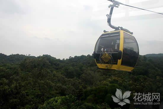 广州白云山登山索道的故事,我国第一条自行设计建造的观光索道!