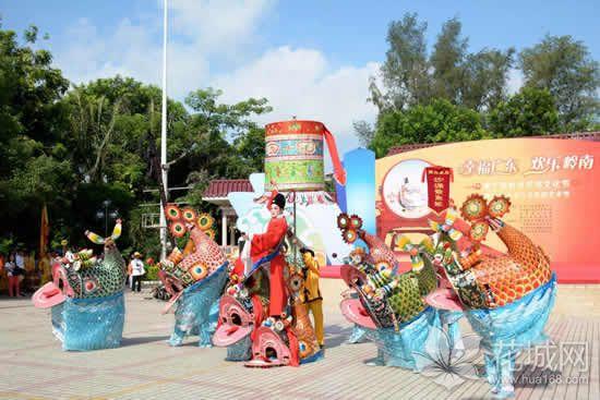 番禺沙涌鳌鱼舞你看过了没?在2007年就入选广东省非物质文化遗产名录!