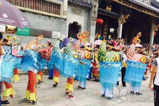 广州番禺广东省非物质文化遗产鳌鱼舞的变迁史