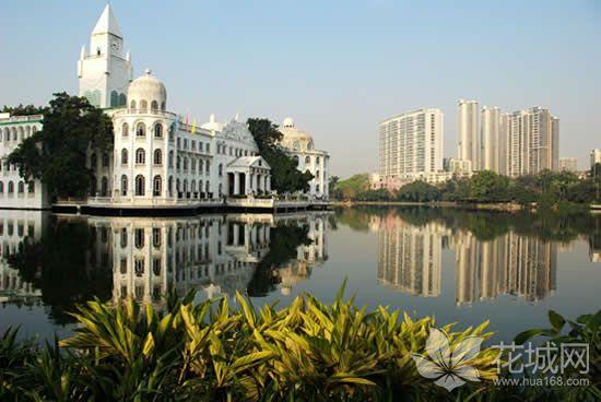 流花湖公园内的着名建筑白宫结业,广州斥1.1亿打造首个自然博物馆!