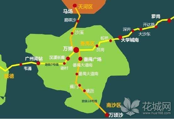 广州全国在建地铁最快的线路,最高时速将达160公里!