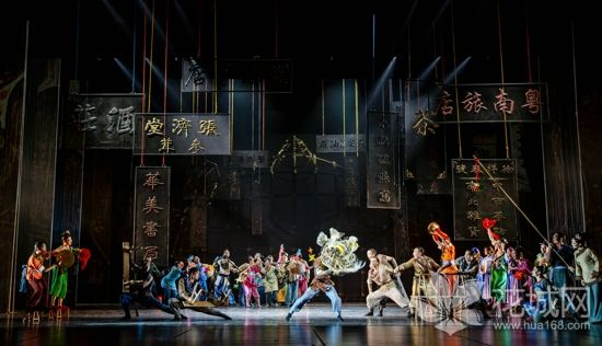 大型民族舞剧《醒·狮》正在佛山琼花大剧院联排,极具岭南特点和广州特色!