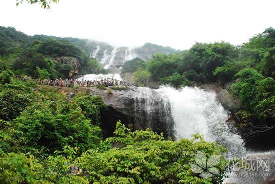 广州周末旅游哪里好玩?带你到天然大氧吧增城白水寨享受清凉!