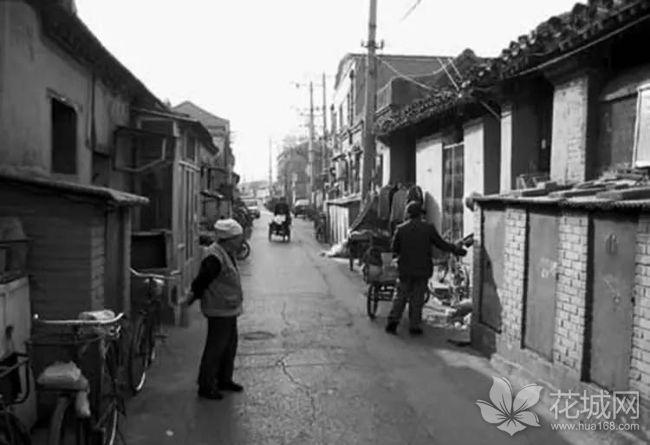北京最宽的胡同——灵境胡同