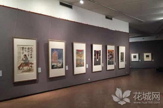 廖冰兄晚年漫画作品在广州艺术博物院展出,漫画作品五十多幅!