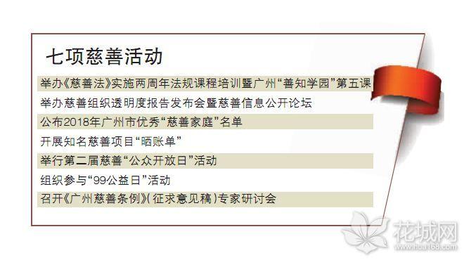 广州开展七项重点慈善活动,提高慈善组织公信力!