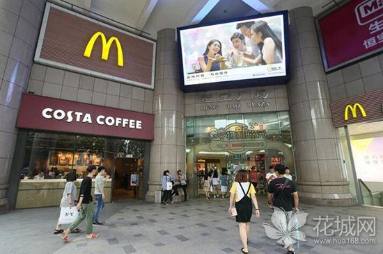 Costa广州首家手调咖啡门店落户恒宝广场,装修风格富有英伦艺术感!
