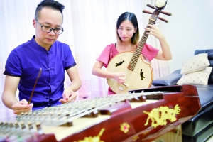 广州番禺沙湾青萝乐坊玩转传统乐器,把传统音乐玩得动感十足!