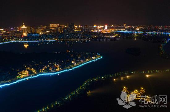 广东肇庆打造星湖夜景迎接中秋国庆,给各地游客一个全新的体验!