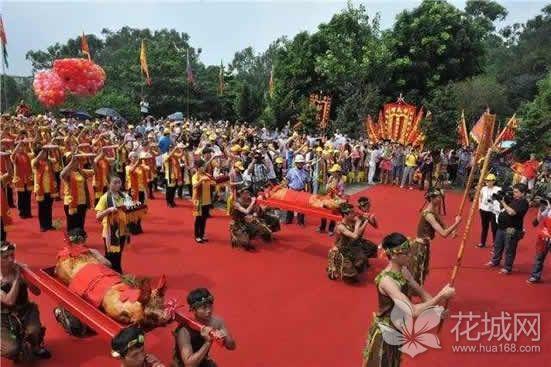 2018年中国(狮岭)盘古王民俗文化节亮点逐个数